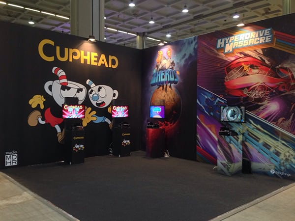 Our awesome stand